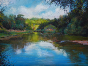 """Mary Meehan Firtl, """"Off the Betsie Trail"""""""